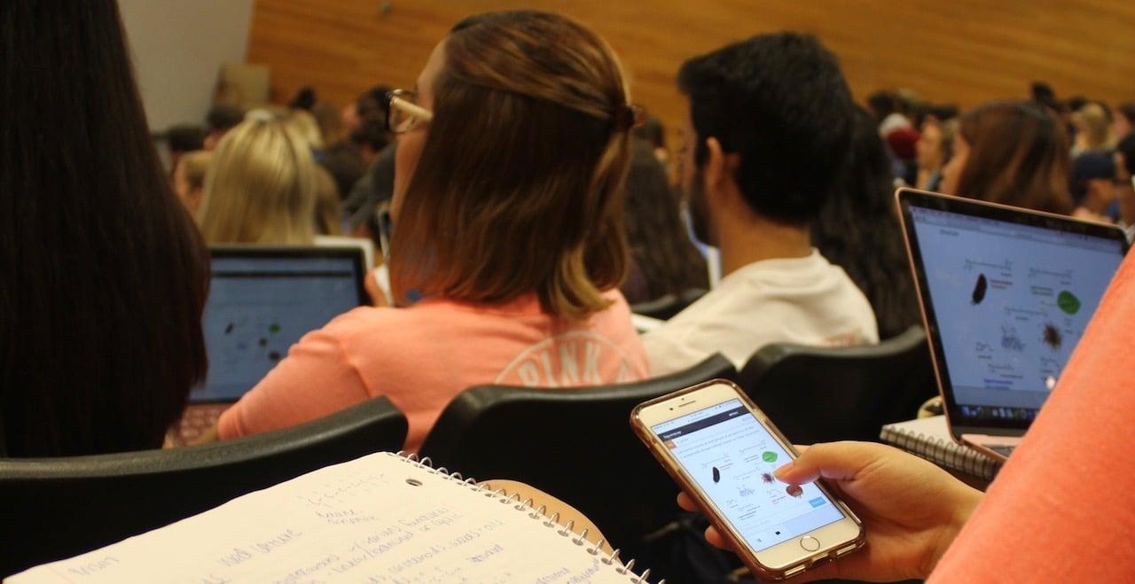 Squarecap in class